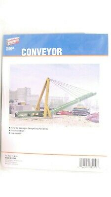 Walthers Cornerstone HO Conveyor Kit For Washington Salvage Scrap Yard 933-3645
