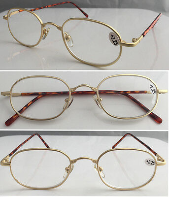 R74 Superb Quality Reading Glasses & Very Robust Metal Frame & Long Arms Sleeve*