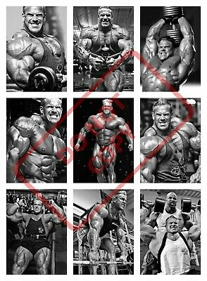 Jay Cutler Bodybuilding Poster Collage - Gym/Workout/Exercise
