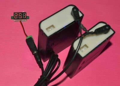 Connect in Series&Parallel 12V Power Bank Portable Car Jump Starter Charger New
