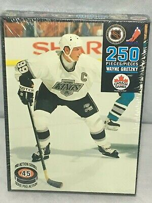 5f500584 Canada Games WAYNE GRETZKY Jigsaw PUZZLE 250 pieces Los Angeles Kings New  Sealed