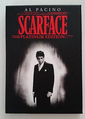 MINT Scarface Platinum Edition 2 disc DVD set w/slipcover FREE Shipping!