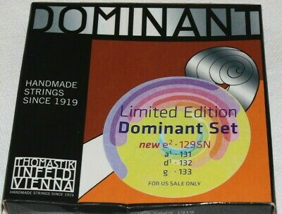 Dominant violin strings full size -Free shipping Brand New Sealed ---In stock