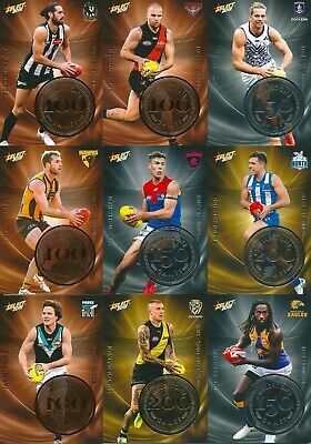 2019 select footy stars milestone card you choose your card