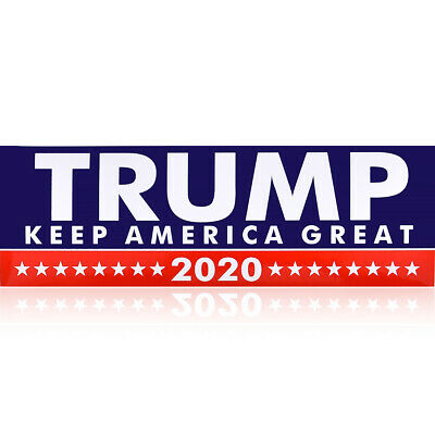 10PCS 2020 Donald Trump For President Bumper Stickers Decal Keep America Great