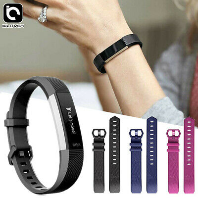 S/L Silicone Replacement Wrist Bands Strap Watch Bracelet For Fitbit Charge 3 US