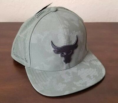 06b3a7f3d1b Men s Under Armour UA x Project Rock Mesh Back SuperVent Snapback Cap Flat  Hat