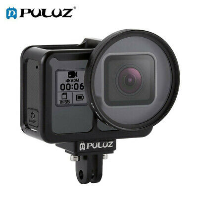 PULUZ Housing Shell CNC Aluminum Alloy Protective Cage Case For GoPro HERO7/6/5