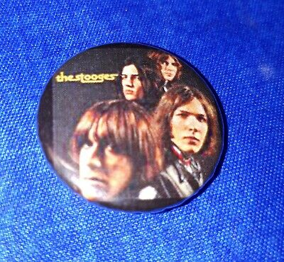 THE STOOGES pin badge 25mm IGGY POP #1