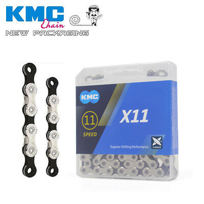 New Boxed 2020 KMC X12 Full Silver Bike Chain inc Power Link Shimano Sram Campy
