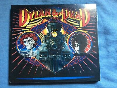 NEW Grateful Dead Bob Dylan Dylan And The Dead 1987 & CD Jerry Garcia SEALED
