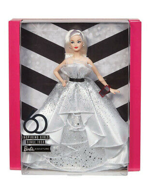 NRFB Brand New & HTF Barbie Sold Out- 60th Anniversary Barbie Blonde