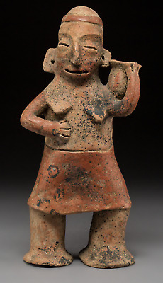 A Large Colima Female Figure c. 250 BC - 250 AD Pre Columbian Art Mexico