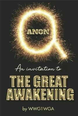 Q Anon QAnon: An Invitation to The Great Awakening- Paperback NEW By WWG1WGA