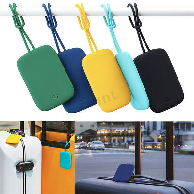 Travel Luggage Bag Tag Name Address ID Anti-lost Label Silicone Suitcase