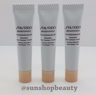 Shiseido BENEFIANCE WrinkleResist24  Intensive Eye Contour Cream 5ml (3pcs Set)