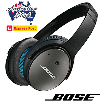 Bose QuietComfort QC25 Noise Cancelling Headphones Black - In Box - Express Post