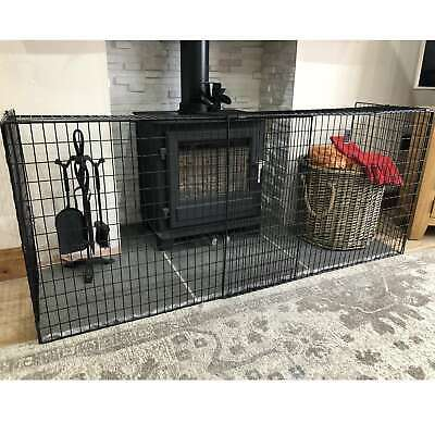 Extendable Fireguard Folding Safety Guard Folding Fireplace Cover Child Baby Kid