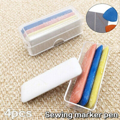 New Needle Colorful Clothing Dressmakers Sewing Tailor Chalk Fabric Erasable