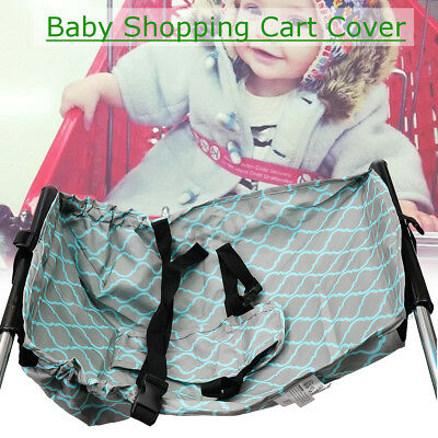 Foldable Soft Baby Shopping Trolley Cart Seat Pad High Chair Cover Protector
