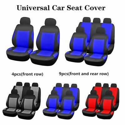 4/9Pcs/Set Breathable Seat Cover Front Chair Mat Pad Protector Cushion Pretty
