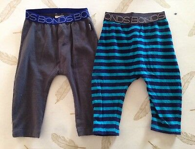 Bonds Baby Boys Pants 3-6 Months 00
