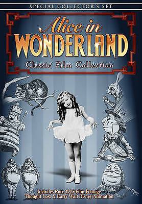 Alice in Wonderland: Classic Film Collection (DVD, 2010) disc only