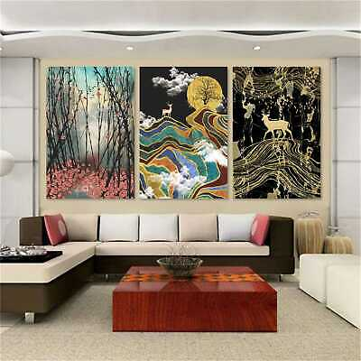 Abstract Nordic Canvas Painting Picture Wall Art Home Room Decor Unframed #0348