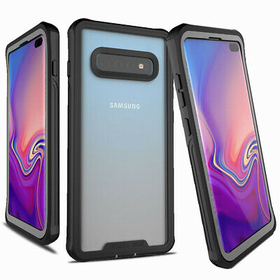Shockproof Hard Case Full Cover WITH SCREEN PROTECTOR For Galaxy S10 / S10 Plus