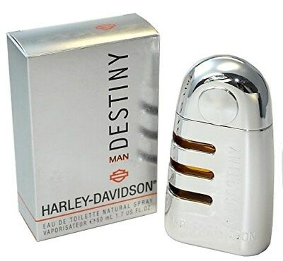 HARLEY DAVIDSON DESTINY Eau de Toilette 50ml Spray New/Nuevo