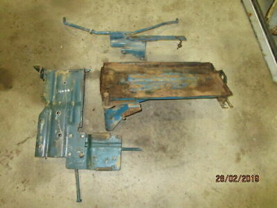 Ford 4000 Battery Tray & Brackets in Good Condition