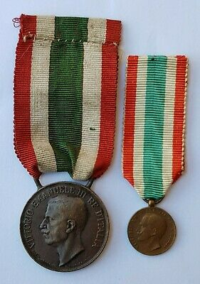 United Medal of Italy 1918 Medaglia commemorativa dell'Unità d'Italia WW1