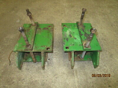 John Deere 3130 Cab Rear Mountings in Good Condition