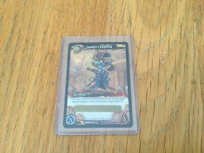 WOW TCG Landros Lichling loot card unscratched