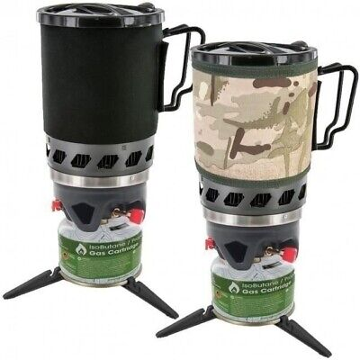 Highlander Blade Fastboil MK2 Cooking Gas Stove & Cup 1L - Camping, Fishing