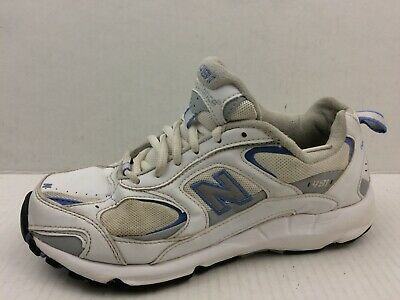 NEW BALANCE 491 Womens 7 Medium Shoes Sneakers Running Gray Blue White Athletic