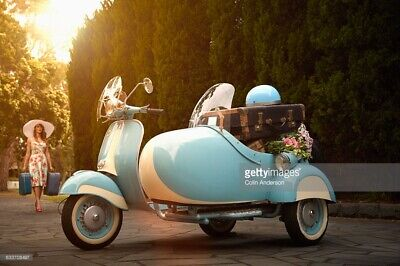 1965 Vespa with Sidecar