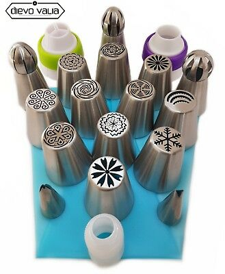30pc Russian Piping flower tips- set of 16 nozzles for cupcake/cake decorating