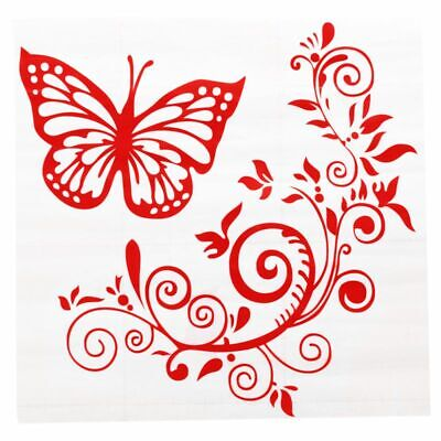 Reflective Personality Butterfly Flower Car Stickers Car Body Car Styling R I5S3