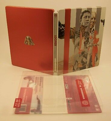 STEELBOOK Mondo Looper Blu-ray Future Shop Exclusive