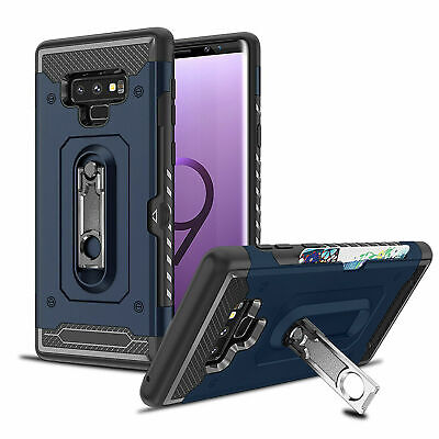 For Samsung Galaxy S10 Plus S10E Shockproof Hybrid Armor Hard Case Stand Cover
