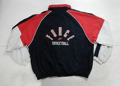 Nike Force Vintage Jacket Felpa Basket Rare
