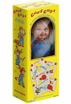 Licensed CHILD'S PLAY CHUCKY DOLL Good Guys Doll Trick Or Treat Studio PREORDER