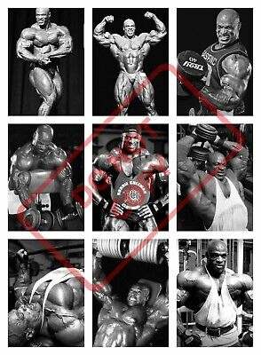 Ronnie Coleman BODYBUILDING POSTER PRINT COLLAGE - GYM WORKOUT EXERCISE