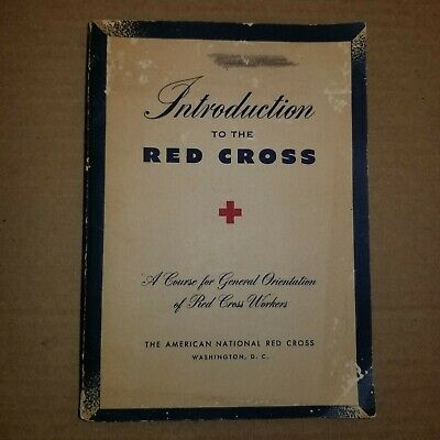 Intro to the Red Cross handbook 1948 ,and Code of Ethics sheet by Richmond CA