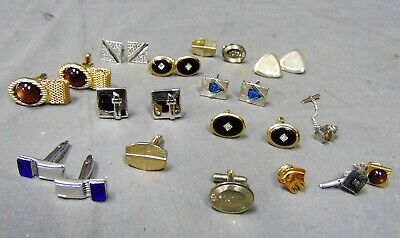 17a7581531ac Lot of Vintage Men's Jewelry MAD MEN Mid-Century Designed Cuff Links Tie  Tacs