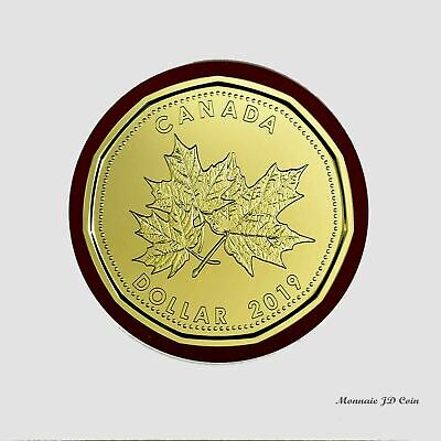 2019 O Canada1$ Maple Leaf Loon Uncirculated From Gift Set