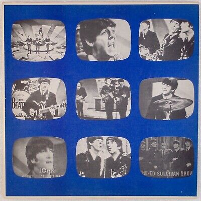 THE BEATLES: 1964 & 1965 Ed Sullivan Shows NON TMOQ Melvin 1980 Vinyl LP