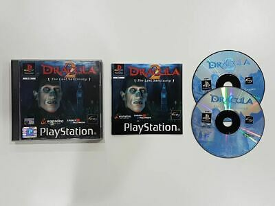 Dracula 2 The Last Sanctuary PS1 Used SAME DAY FREE SHIPPING