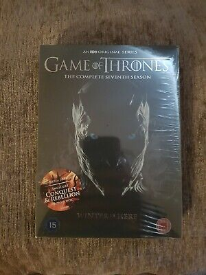 GAME OF THRONES Season 7 - Special 5 Disc Box Set - + Conquest & Rebellion